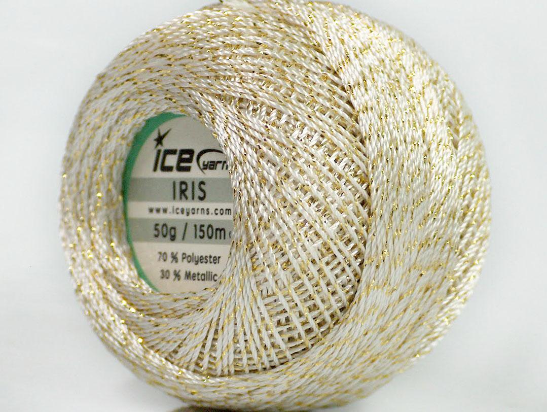 Вязание золотыми нитками 19